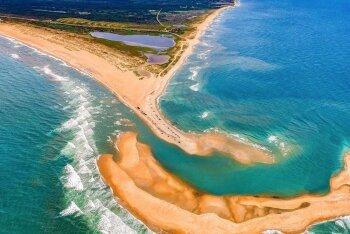 Hämmastav loodus: Atlandi ookeani rannikule tekkis üleöö täiesti uus saar