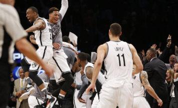 VIDEO: Nets võitis viimase sekundi kaugviskest, kolm kohtumist läks lisaajale