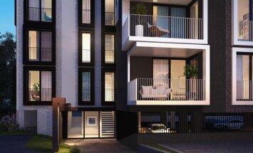Возле яхт-клуба в Пирита будет построен новый малоквартирный дом