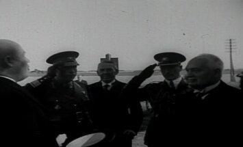 VANAD FILMIKAADRID: Kui 1939. aasta sügisel algab sõda, käib president Konstantin Päts külaskäigul Tartus