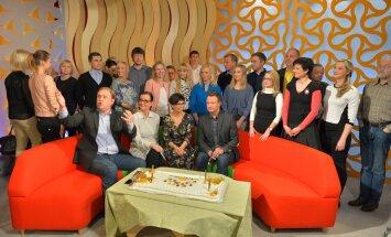 FOTOD: Täna hommikul tähistati Telemajas legendaarse hommikuprogrammi 15. sünnipäeva
