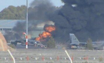VIDEO: Hispaanias kukkus alla NATO hävituslennuk, hukkus vähemalt kümme inimest