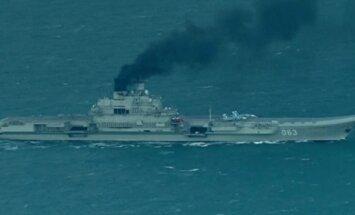 VIDEO: Süüriasse suunduvad Vene sõjalaevad seilasid läbi La Manche´i väina