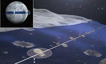 Jaapani ettevõtte tahab Kuule ehitada 11 000 km pikkuse päikesepaneelide farmi