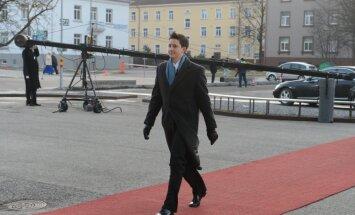 EV 96 Luukas Kristjan Ilves saabumas presidendiballile