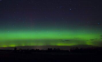 FOTO: Virmalised võõpasid Jõgeva taeva roheliseks