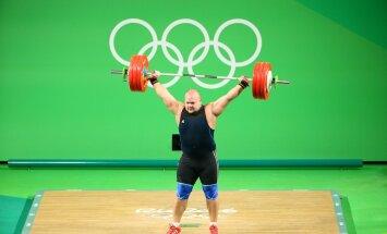 Rio olümpia tõstmine