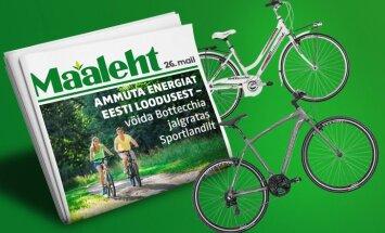 Soovid uut jalgratast? Maaleht annab!