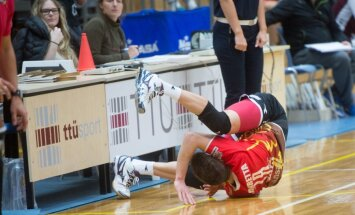 Võrkpall - TTÜ vs Selver, Federico Marretta