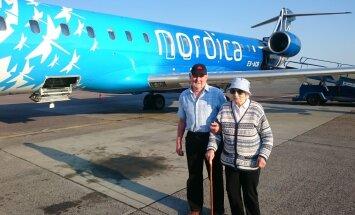 LENDAMA | Vaata liigutavat videot, kuidas 95aastane Maimu esimest korda elus reisile viidi