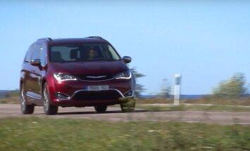 Motorsi proovisõit: Chrysler Pacifica – linnamaasturist mahtuniversaaliks