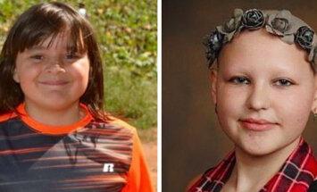 Liigutav lugu: 10aastane poiss kasvatas kaks aastat juukseid, et need oma haigele sõbrannale annetada