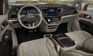 Chrysler Pacifica: auto, mis sobiks väga hästi ka presidendile