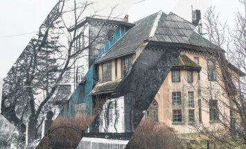 Tulistamine Valga juugendvillas viis aeglase surmani ka uhke maja: kas haruldust õnnestub veel päästa?