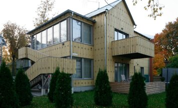 Aasta puitehitis 2015 traditsiooni tõlgendamise eriauhind — kortermajad Veski 53a ja 55a Tartus