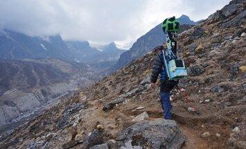 Säti end mugavamalt tugitoolile, Google Street View viib Mount Everesti jalamile