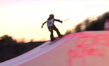 VIDEO: 10-aastane Henry Sildaru tegi Väikesel Munamäel 900-kraadise hüppe