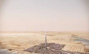 ВИДЕО: Саудовская Аравия строит самое высокое здание планеты