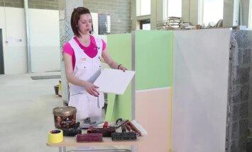 VIDEO: Vaata, kuidas luua reljeefse mustriga seinapind! Tulemus on õhuliselt õrn
