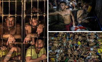FOTOD: 3600 kurjategijat võitleb iga päev vee ja toidu pärast kurikuulsas vanglas, kuhu peaks mahtuma vaid 800