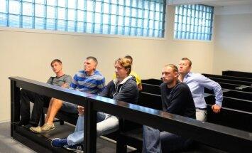Narva Transi mängijad kohtus