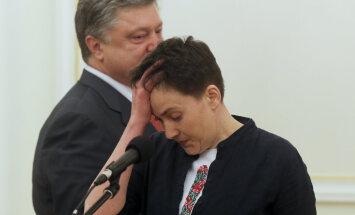 Савченко выразила готовность стать президентом Украины