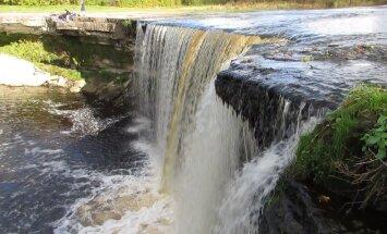 ФОТО и ВИДЕО читателя Delfi: Потрясающие краски осени на водопаде Ягала