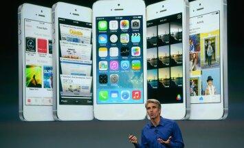 Apple'i uue operatsioonisüsteemi iOS7 tutvustus