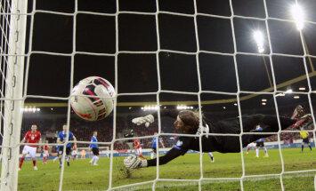 FOTOD: Hambutult mänginud Eesti kaotas Šveitsile kindlalt 0:3
