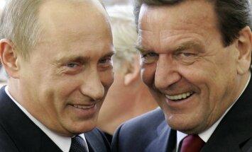 Gazpromi ristiisad: Vladimir Putin ja Gerhard Schröder