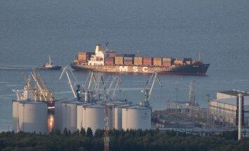 В июле грузооборот портов Эстонии вырос на 13%
