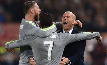 Ramos, Ronaldo ja Zidane