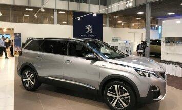 Pilk peale, käsi külge: uus Peugeot 5008 käis korraks Eestis ja ütles oma hinna!