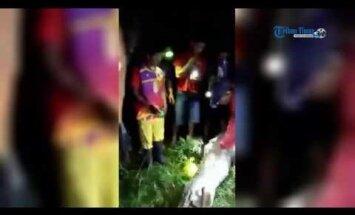 Šokeeriv VIDEO: see 7-meetrine püüton suutis alla neelata terve inimese