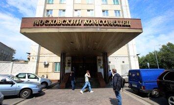 Moskovski Komsomoletsi peakorteris tehakse intervjuusse parandusi.