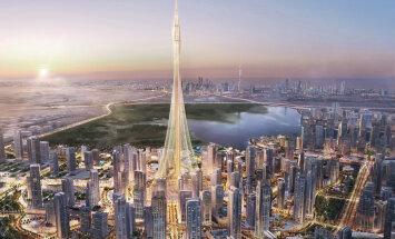 Burj Khalifast ei piisa - Dubais pandi nurgakivi maailma uuele kõrgeimale tornhoonele