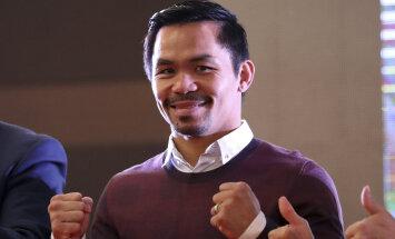 Manny Pacquiao laseb fännidele endale järgmise vastase valida