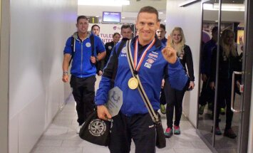 Ott Kiivikas euroopa meistri medaliga