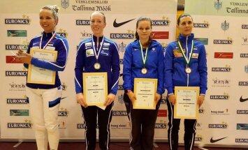 Naiste esinelik Tallinna meistrivõistlustel
