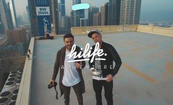Поехали! Вдохновляющее начало кругосветного путешествия Hilife в Дубае