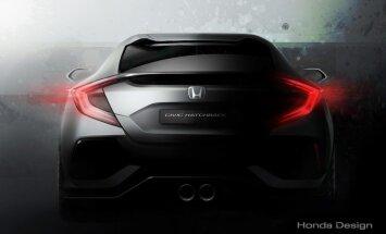 Honda näitab Genfi autonäitusel uut Civici luukpära prototüüpi ja muud põnevat
