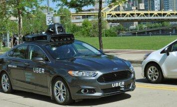 Uber näitas esmakordselt oma isejuhtivat autot