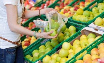 Ligikaudu pooled eriti õhukesed kilekotid lähevad kasutusse puu- ja köögiviljade pakendamiseks.