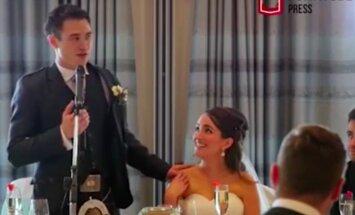 VIDEO: Tervel pulmarahval silmad märjad! Algklasside õpetaja kirjutas koos koolilastega oma mõrsjale armastuslaulu