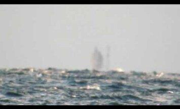 Американец заснял на видео корабль-призрак