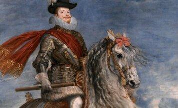 Felipe III a caballo 1634-35, Museo del Prado