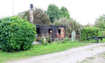 Tulekahju Pahapilli külas, Saaremaal