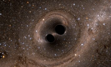 Selline oleks kahe musta augu kokkupõrge.