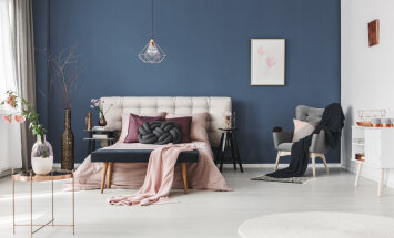 FOTOD │ Sinine värv magamistoas loob rahuliku atmosfääri ja aitab uinuda