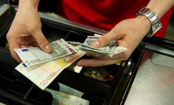 Taas leidis tõestust, et poodi minnes on mõistlik peale pangakaardi ka sularaha kaasa võtta.